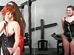Needy ass chick spanked and roughly stimulated in thraldom scenes