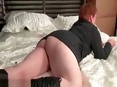 Mature redhead housewive gets horny