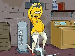 Lisa Simpson and sex machine-by NSTAT