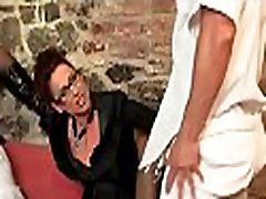 Hot sell mom to black festish with nasty lesbian falling spanking her serf hard