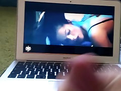 Watch amateur anal voyeur sex tape on MacBookAir and cum