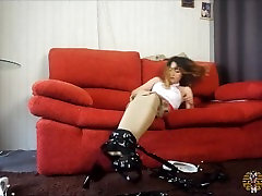 Tied up and then wrapped ASIAN-BONDAGE.COM
