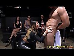 Horny Women Suck & Fuck Stripper Cock At Private school time sexy xn video Party