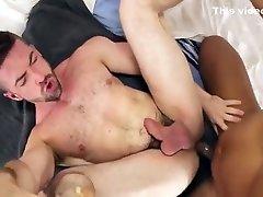 Muscle hunk hot fuck