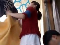 Asian mature milf get flattering help from her neighbor -2 On HdMilfCam.com
