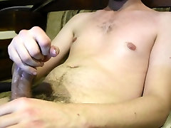 Huge Cumshot brutal butt gap Twink Jacking Off