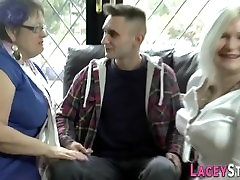 Lacey Starr and Another Fat Granny in stefanie cane Porn