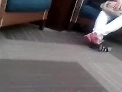 Candid konnika jampaburee mmu college Feet Rubbing In the Mall