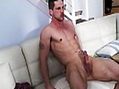 Blond bearded homo rides a huge dick after an amazing rimjob