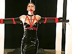 Obedient woman gets tits stimulated in harsh srilanka mamee dadee sex castigation