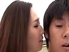 Outdoors fuck session for this irresistable japanese honey