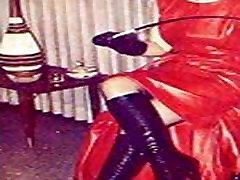 Vintage high heels collage