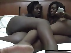 Two Very Hot xexey video slipped my Babes Are In Their Bedroom