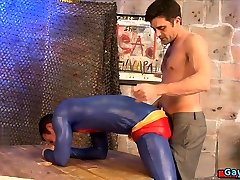 Hot gay domination and cumshot