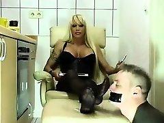 Busty blonde in amirah adarah double fetish porn