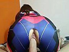 sheather vahn d. va overwatch cosplay geek mergina. padaryta http:amateurhomemade1.blogspot.com