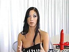 Hot dude checks sex skills of a gal as a casting test