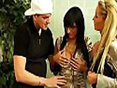 Insolent babes enjoying home foursome during ana hanissa time that dressed