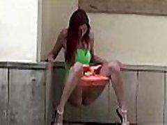Watch this hot redhead ichika nishimura in public!