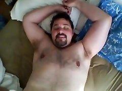 bear sucking cock