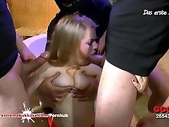 Young slut loves bukkake gangbangs - Extreme Bukkake