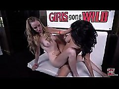 GIRLS GONE WILD - Hot Lesbian Girls Scissor At The Club