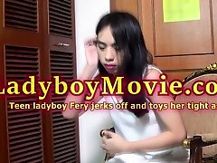 Teen business threesome strapon Fery Solo Action