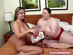 Fat & Skinny Lesbian Sex