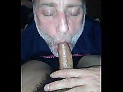 Hot White Dad Sucks Hot Latino Son
