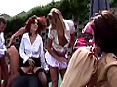 Bitches with deep face holes show their skills at a hot sex bobo cheung party