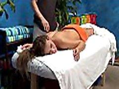hawt daje hawt masaža z hawt presenečenje vraga!