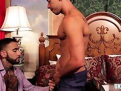 Latin gay foot fetish with cumshot