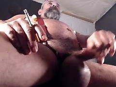mature bear smoker