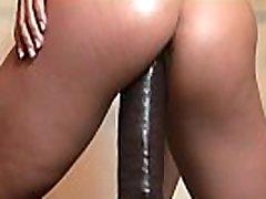 Female Muscle shower nudist japan Star Rides a Huge Dildo