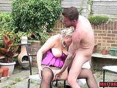 British rent nude blowjob and facial