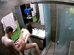 "juicy ass monster cock in the croc mom shower - SASHA & DANNY â""–26 LifeUnderCam"