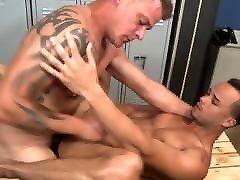 Jace Chambers and Javier Cruz having gay anal sex