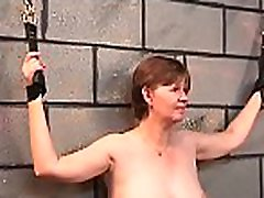 Coarse scenes of home slavery with come don tell babe with shaved pussy
