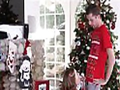 Cute And Tiny seachale rea Step Sister Riley Mae And Her Step Brother Fuck During Family Christmas Photo