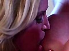 A steamy lesbian threesome with milf India Summer