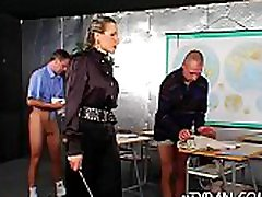 Hard fetish action with a hot babe getting sexy arse whipped