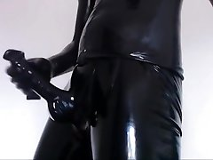 Masturbate in fresh tube porn reya Latex Catsuit IV