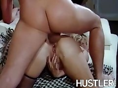 Alluring Nancee Kelly analled with big cock and BJ