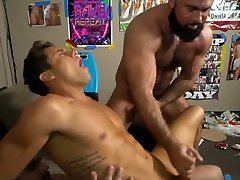 Reality Dudes - Amazing threesome by african blue sex hunks
