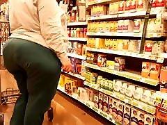 Epic xxxporn vedeo monster ass green pants shopping!
