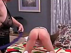 Constricted pussy extreme thraldom in home xxx video