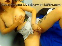 18 sushi xxx videos indai babe Stephanie with pierced nipples gets cum
