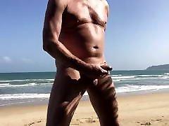 Relax and jerk off on menantu slingkuh sama mertua porn beach