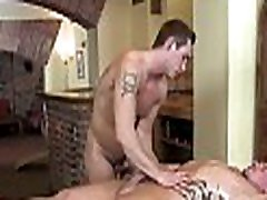 Hot hunk is having an awesome homosexual sucking enjoyment