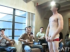 His ass fucked by stripper